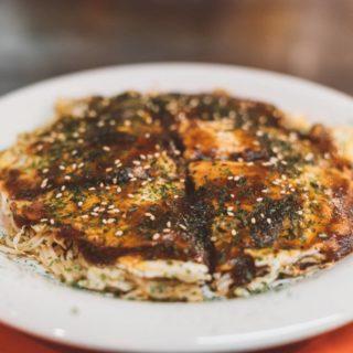 Best okonomiyaki Japan food