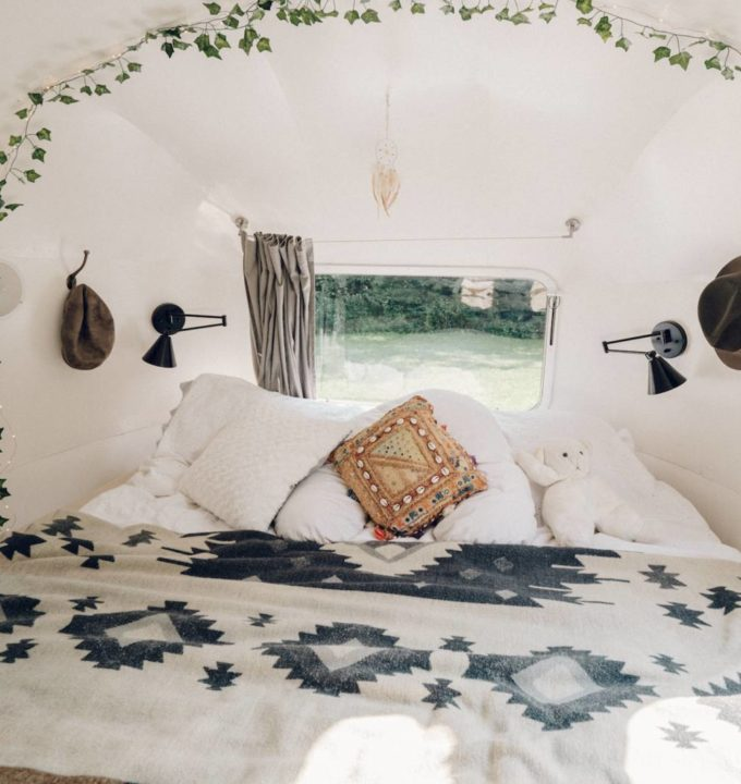 Airstream Bedroom Remodel Tour