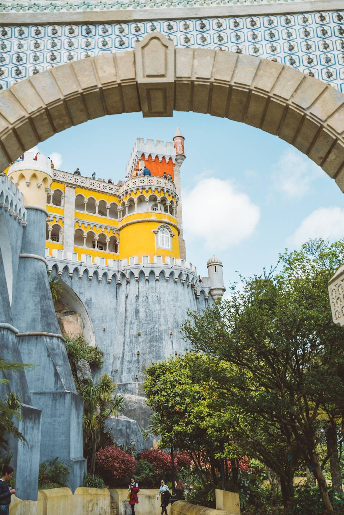 Visiting Pena Palace Portugal