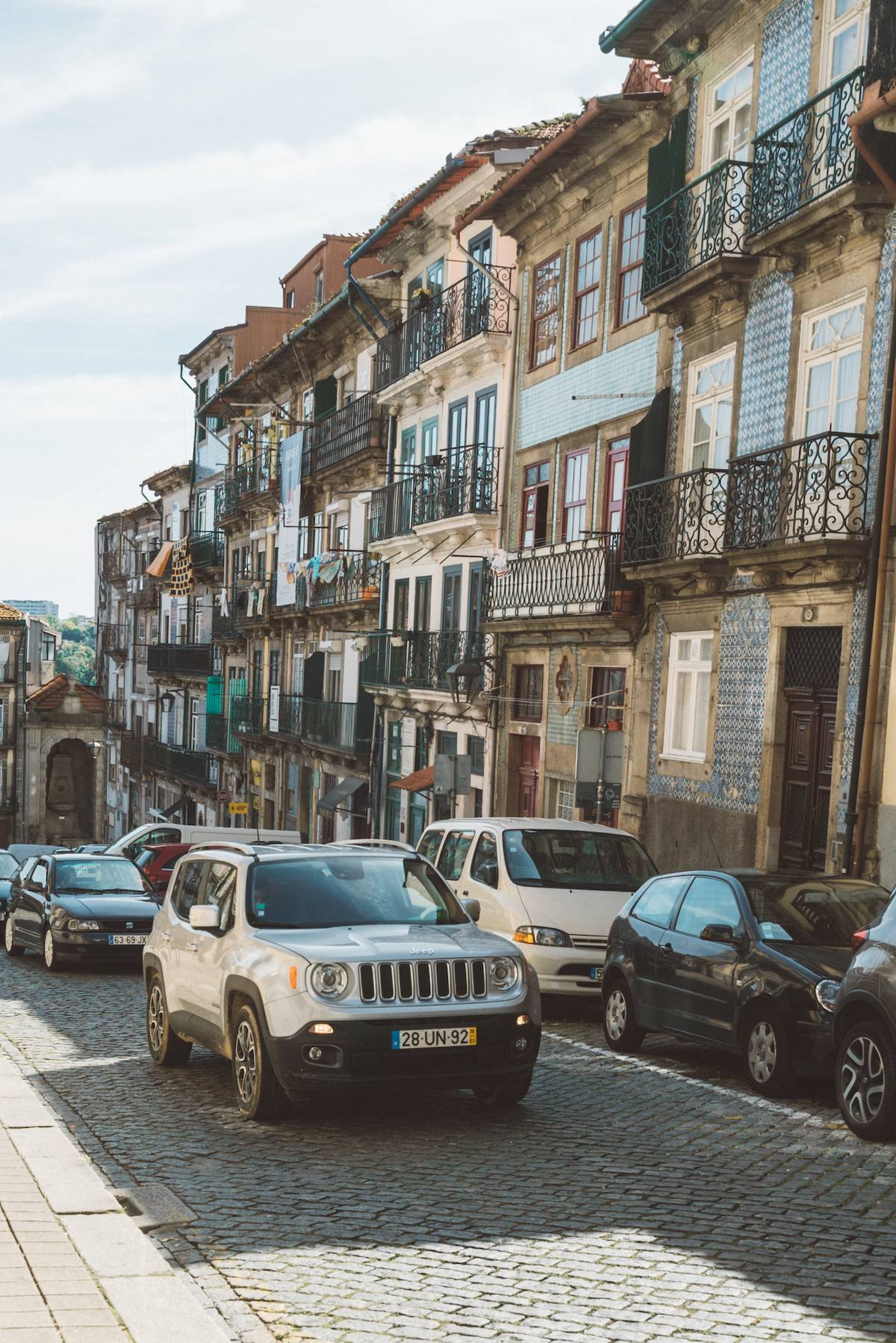 Renting a car in portugal