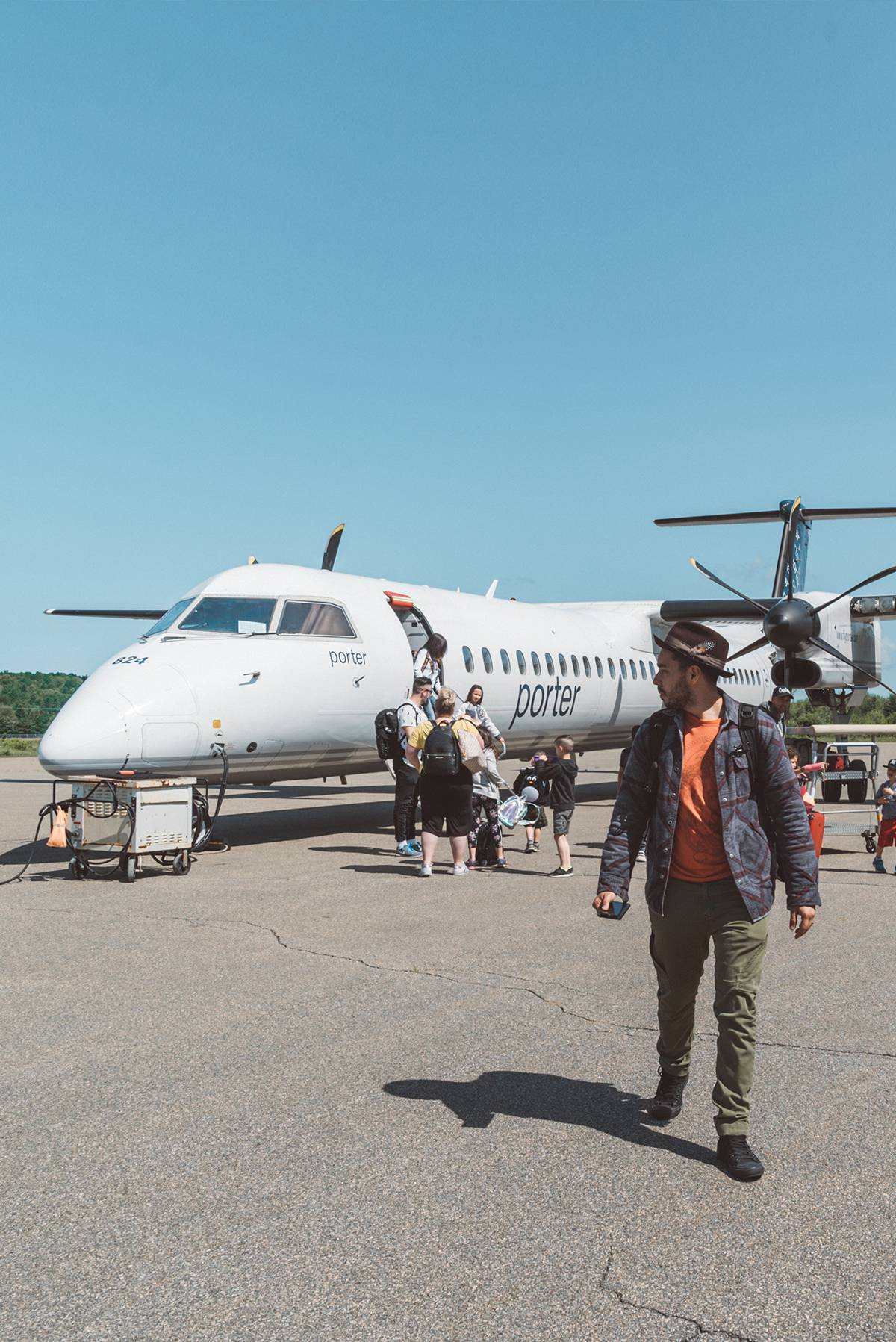 Flying with Porter from Toronto to Mont Tremblant