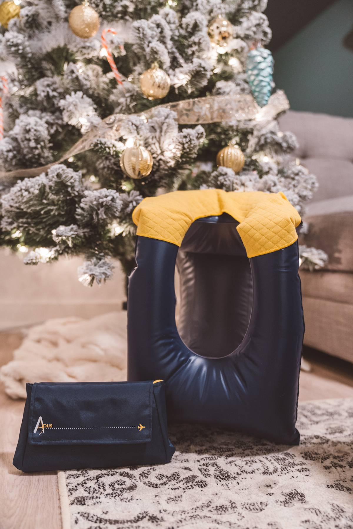 Holiday Gift Guide for Travel 2018 Apus Relax Travel Pillow