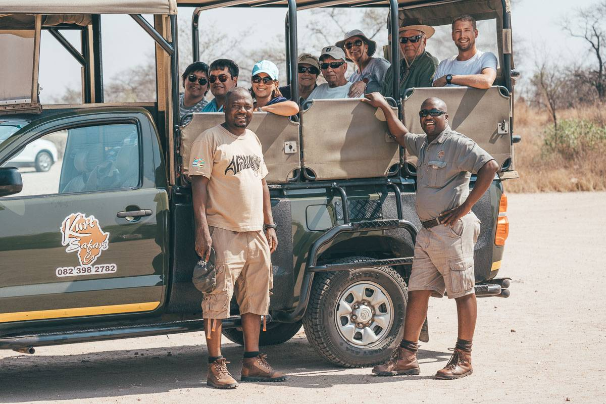 Group tour in South Africa, Zimbabwe and Zambia with G Adventures