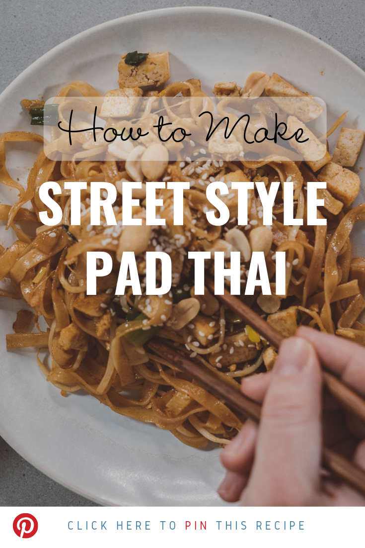 How to make street style pad thai
