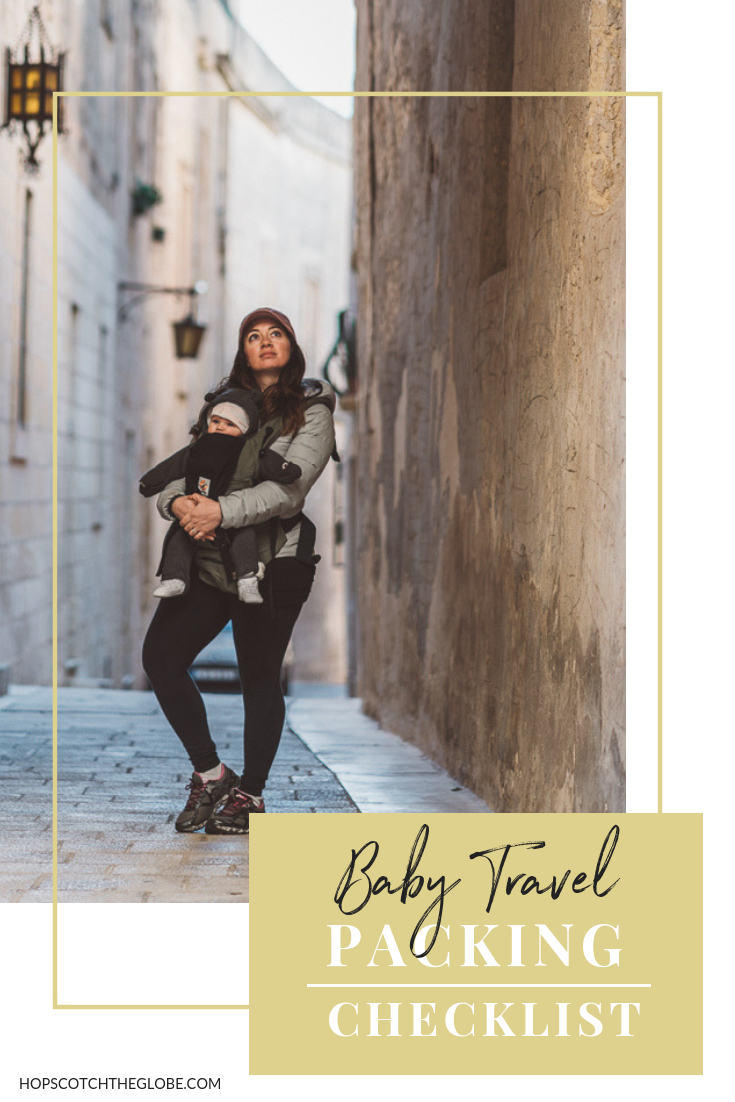 Baby Travel Packing Checklist Pinterest