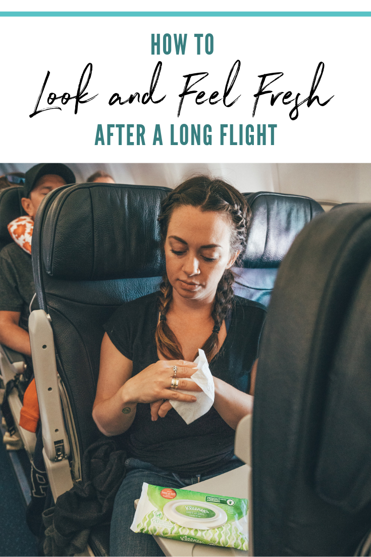 How to Look and Feel Good After a Long Flight
