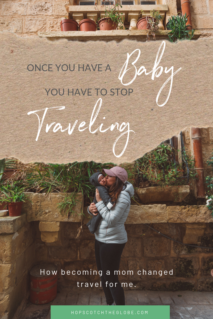Does travel have to stop once you have kids?