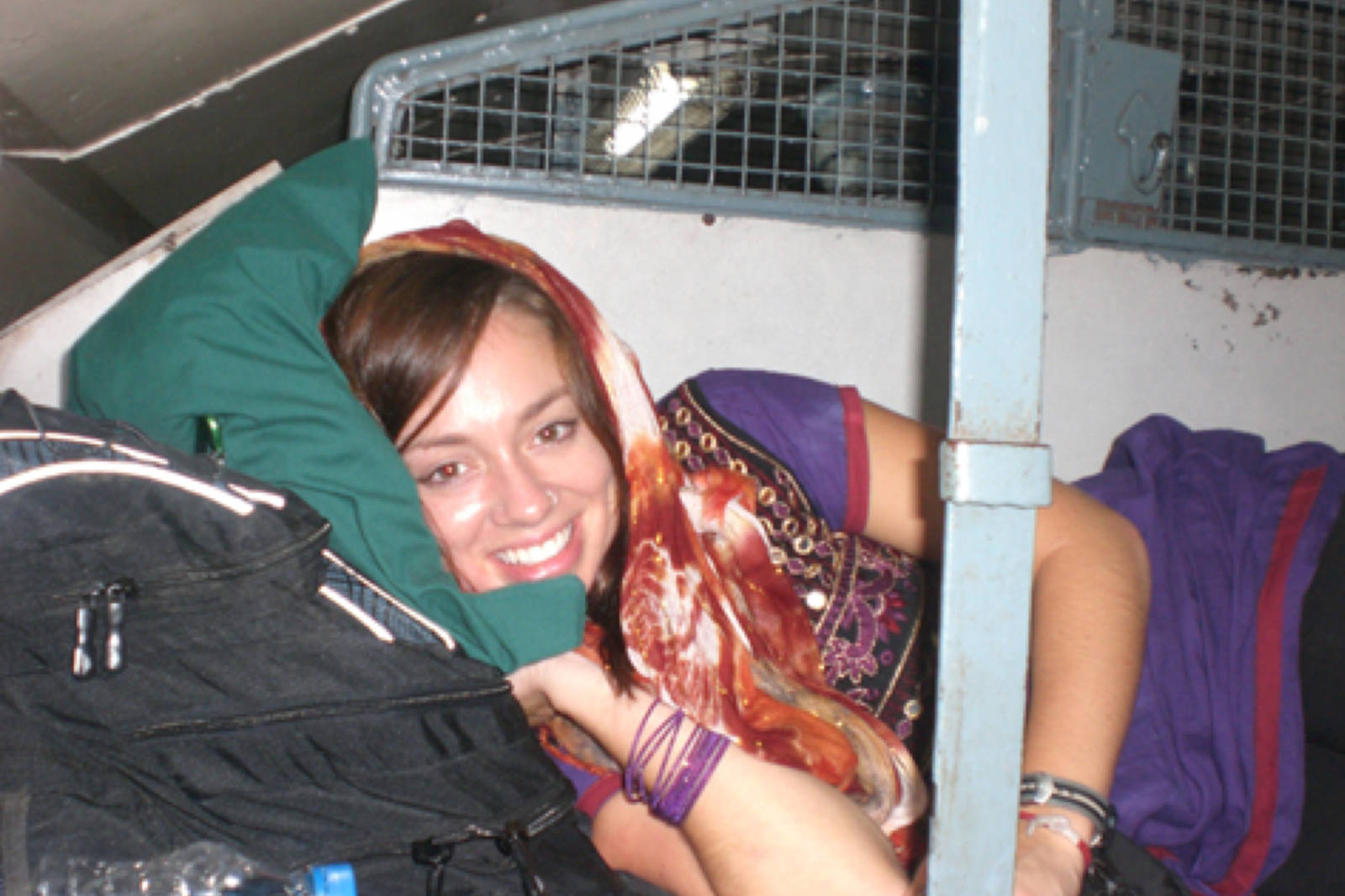 Indian train sleeper class