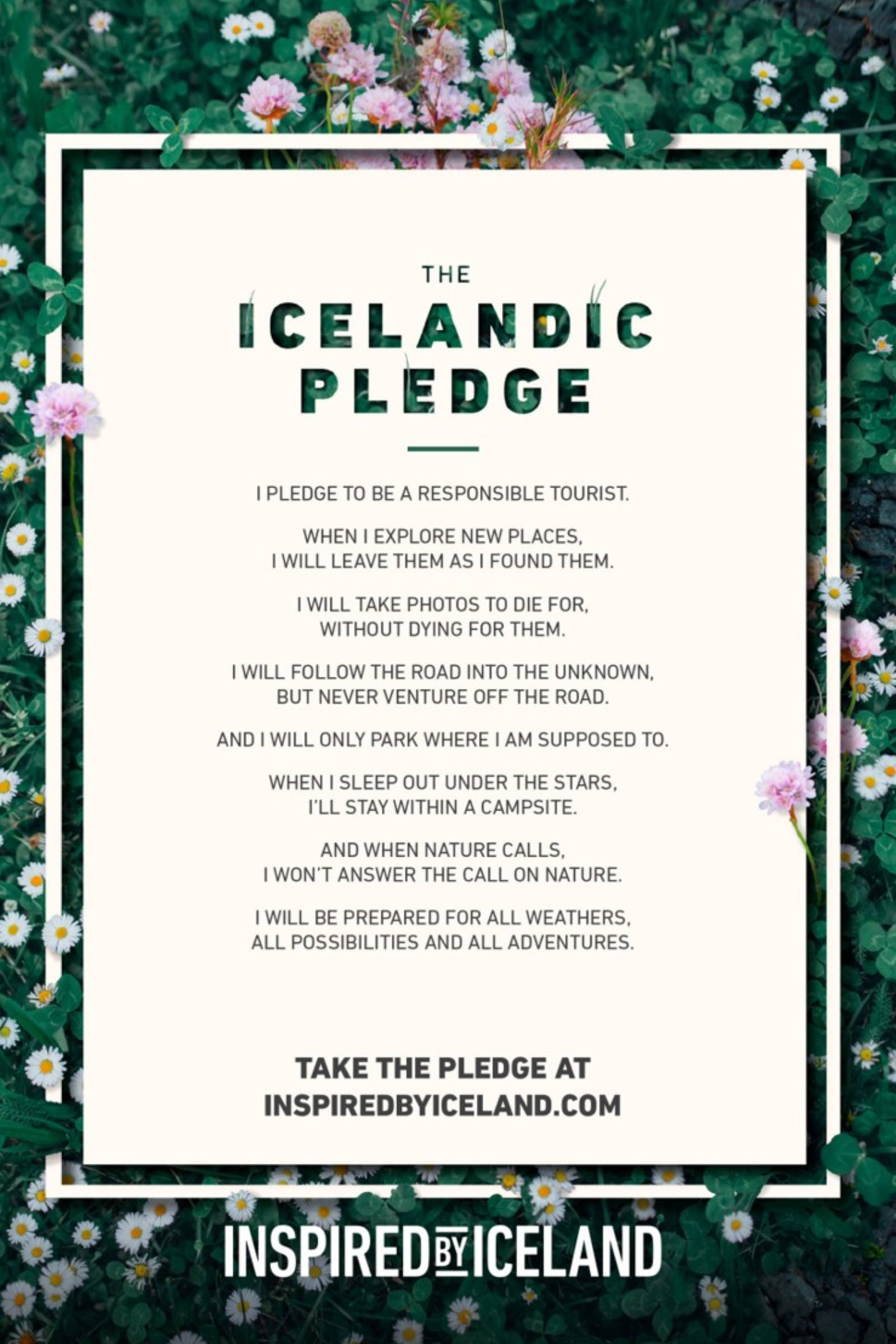 Icelandic Pledge 2