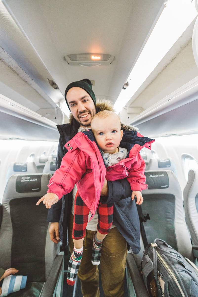 flying with a 1 year old