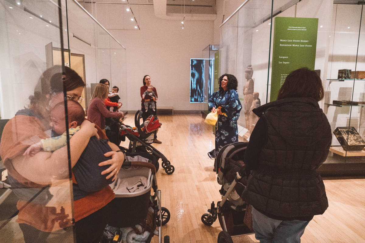 Royal Ontario Museum Baby & Me Stroller Tour