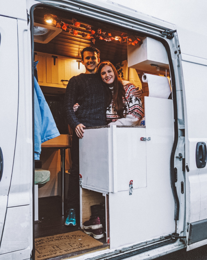 convert a van as a couple van conversion
