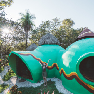 Artist Hosts Magical Dome Airbnb in the Jungles of Costa Rica