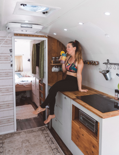 Our Airstream Morning Routine